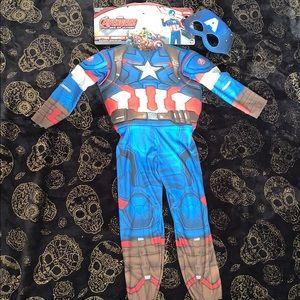Captain America costume 🇺🇸